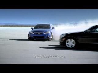 Реклама Lexus - Audi, Mercedes и BMW отдыхают.